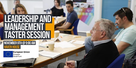 Leadership and Management Taster Session tickets