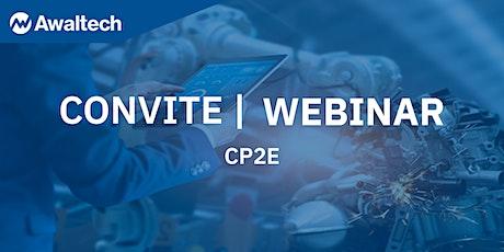 Webinar - CP2E bilhetes