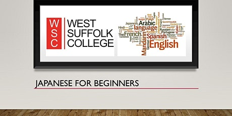 Japanese for Beginners (online) tickets