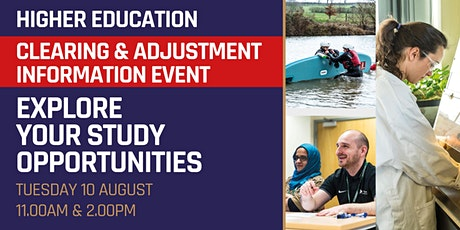 Higher Education Clearing & Adjustment Information Online Event tickets