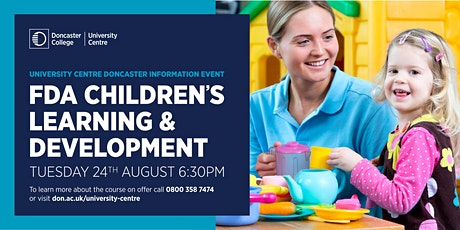 FdA in Children's Learning and Development at University Centre Doncaster tickets