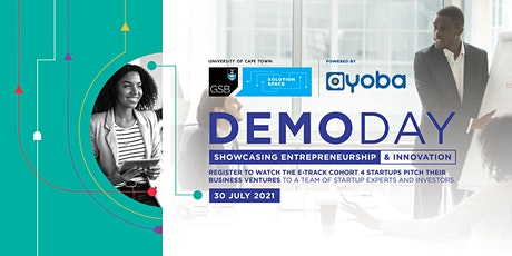 UCT GSB Solution Space Demo Day: Celebrating Entrepreneurship & Innovation tickets