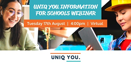 UNIQ YOU : New Virtual Career Service for Educators of Girls in Grades 9-12 tickets