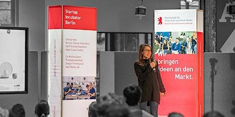 Online-Infoveranstaltung: Jetzt gründen am Startup Incubator der HWR Berlin Tickets