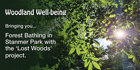 Forest Bathing - Stanmer Park in partnership with the 'Lost Woods' project tickets