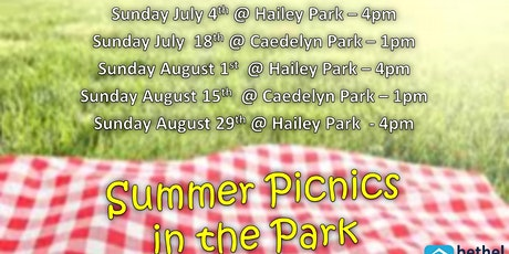 Summer Picnic in the Park tickets
