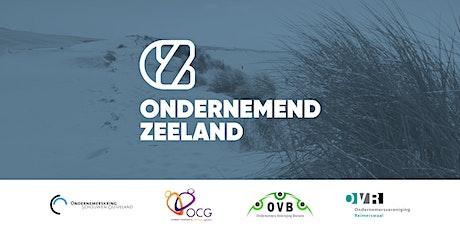 Ondernemend Zeeland start op na de zomer tickets