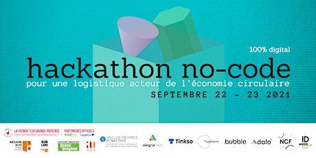 Hackathon no-code : pour une logistique au service de l'économie circulaire billets