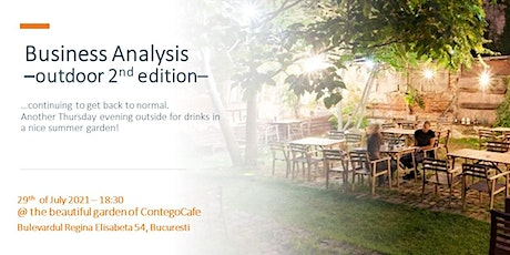 Business Analysis  - 2nd Outdoor Edition tickets