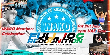 WAKO Presidents & General Secretaries + WAKO Board meeting tickets
