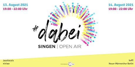 #dabei open air 2021 Tickets