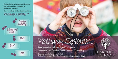 Carrdus Pathway Explorers' Morning tickets