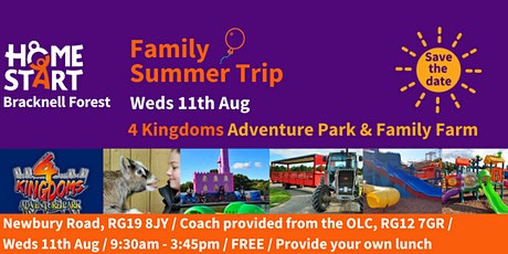 Home Start Bracknell Forest - Family Day Trip tickets