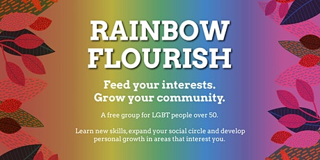 Rainbow Flourish Manchester South - A group for LGBT people over 50 tickets