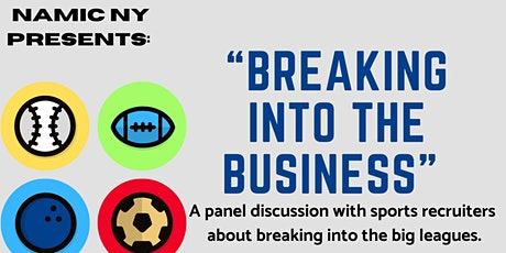 The Sports Industry: Breaking Into the Business tickets