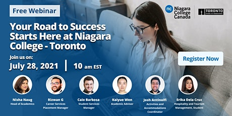 Your Road to Success Starts Here at Niagara College - Toronto tickets
