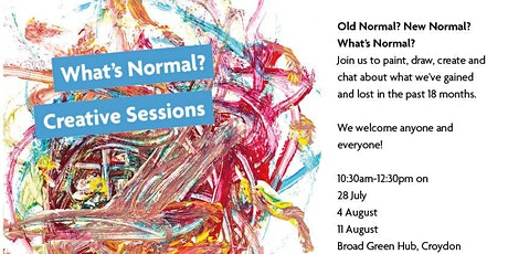 What's Normal? Free Creative Sessions tickets