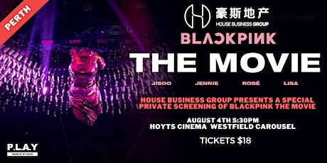A Private Screening for the Global Release of BLACKPINK's THE MOVIE tickets