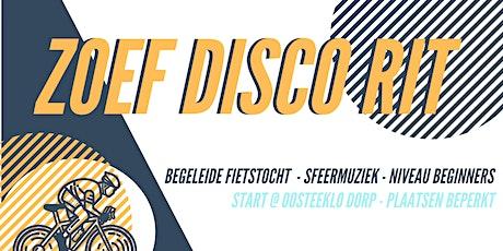 ZOEF DISCO RIT 29/08 tickets