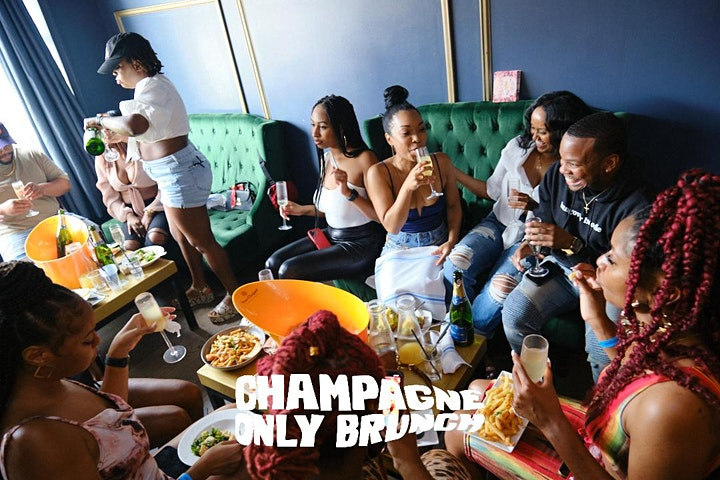 CHAMPAGNE ONLY BRUNCH: Every Saturday at Brooklyn on U: A Party Brunch image
