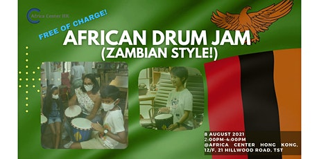 African Drum Jam (Zambian Style) tickets