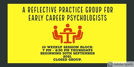 Autumn  Reflective Practice Group for Early Career Psychologists tickets