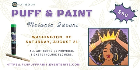Puff & Paint: Melanin Queens tickets