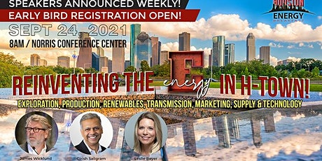 "HOUSTON ENERGY BREAKFAST - Bringing back the ""E"" in Energy in Houston tickets"