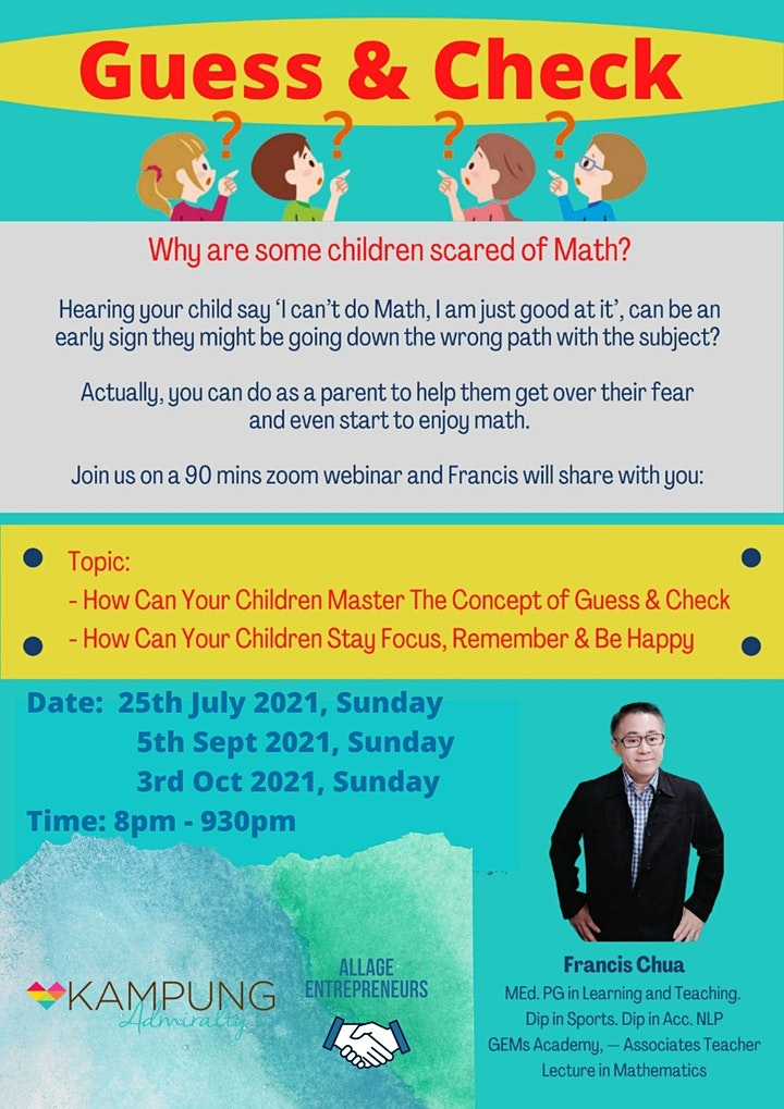 Why children scared of Math? image
