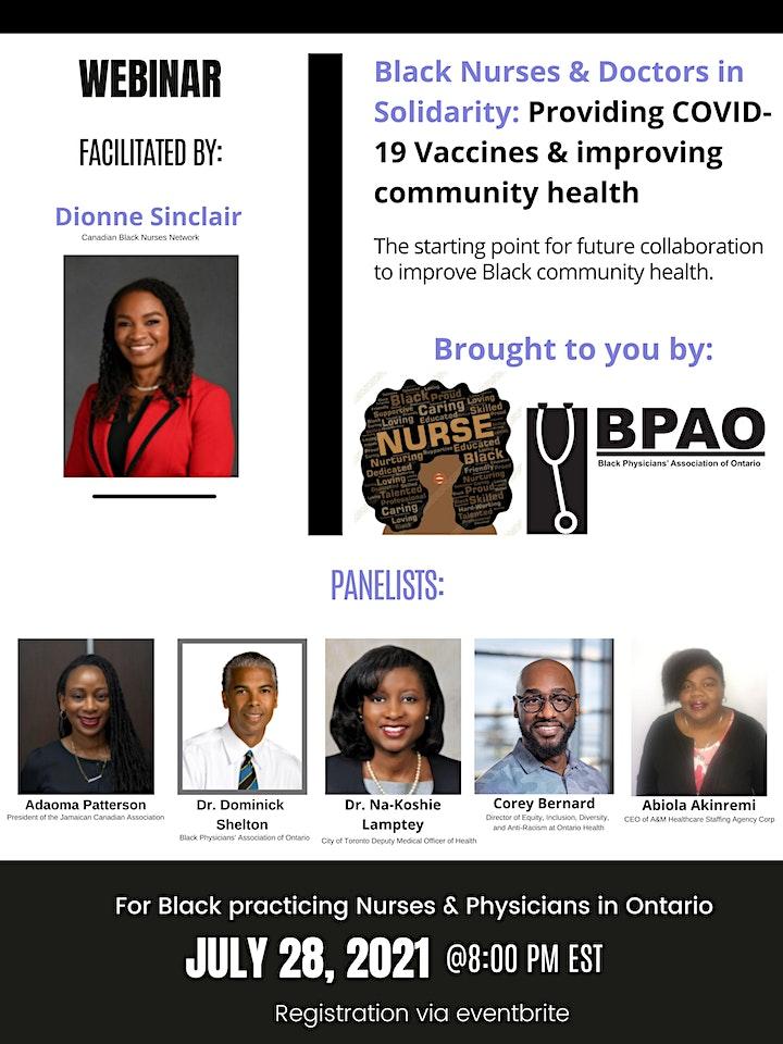 Black Nurses & Doctors in Solidarity image