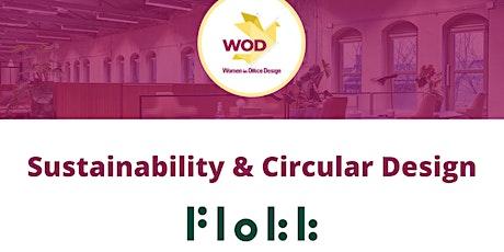 Furnishing the Workplace – targeting Sustainability & Circular Design biglietti