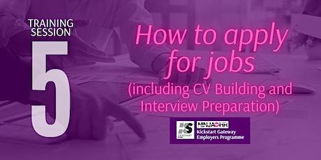 Ninja HR Kickstart Employability Training -  Module 5 tickets
