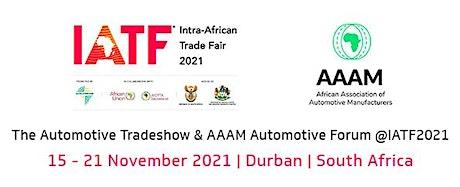 The Automotive Tradeshow and AAAM Automotive Forum @IATF2021 tickets