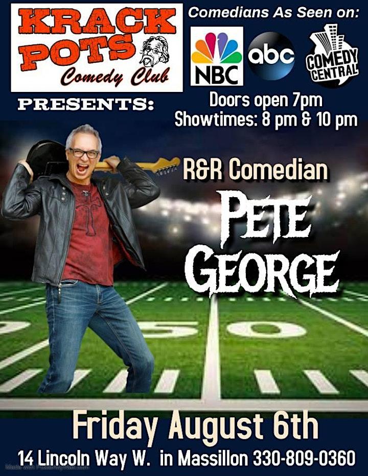 Comedian Pete George image
