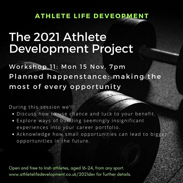 2021 Athlete Development Project Workshop 11 image