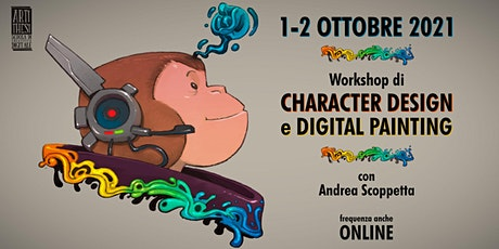 Workshop Character Design e Digital Painting biglietti