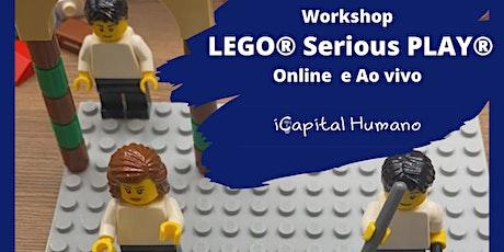 LEGO® SERIOUS PLAY®  ONLINE Metodologia + Inovação e Estratégia  AO VIVO bilhetes