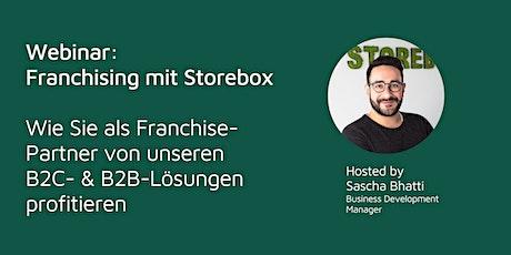 Webinar: Franchising mit Storebox Tickets