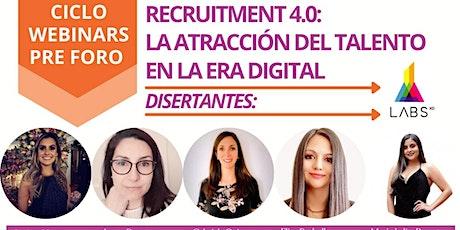Free Webinar:  Recruitment 4.0: La Atracción del Talento en la Era Digital entradas