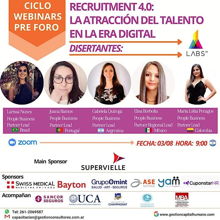 Imagen de Free Webinar:  Recruitment 4.0: La Atracción del Talento en la Era Digital