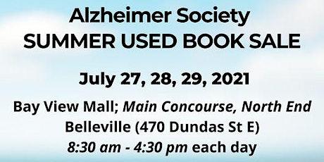 Alzheimer Society Summer Book Sale Fundraiser tickets