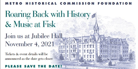 Roaring Back with History and Music at Fisk tickets