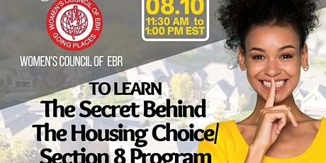 Learn the Secret Behind The Housing Choice/Section 8 Program tickets