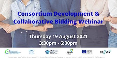 Consortium Development & Collaborative Bidding tickets