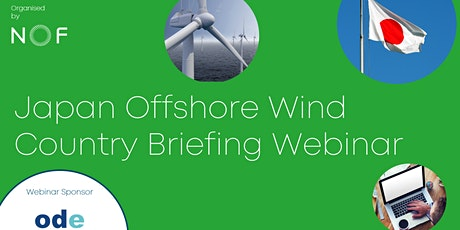 Japan Offshore Wind Country Briefing Webinar tickets