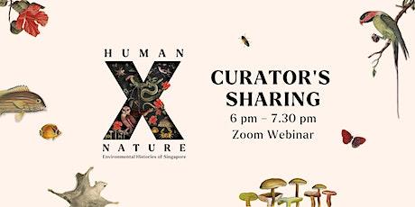 Human x Nature: Curators' Sharing tickets