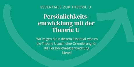 Moving Forward - Essential | Persönlichkeitsentwicklung mit der Theorie U Tickets