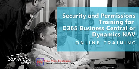 Security and Permissions Training for D365 Business Central or Dynamics NAV tickets