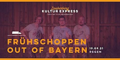 Out of Bayern Frühschoppen (Eintritt frei) • Regen • Kultur Express Tickets