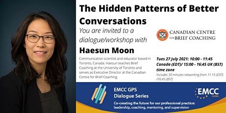 Haesun Moon: The Hidden Patterns of Better Conversations tickets